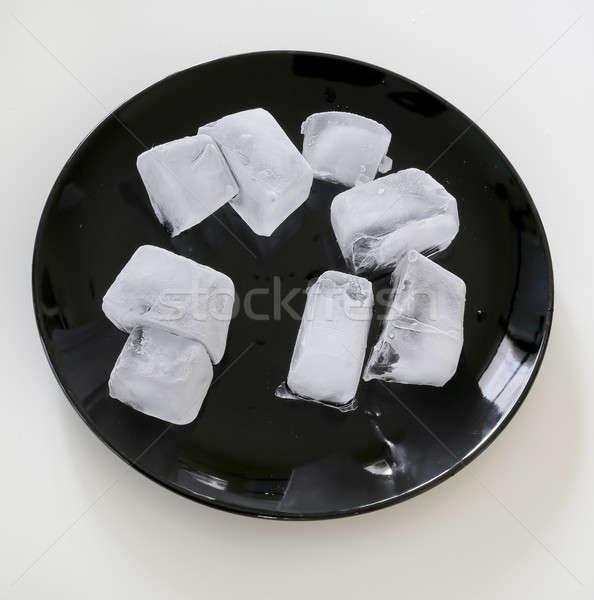 Jég cseppek konzerv ezüst lyuk felső Stock fotó © art9858