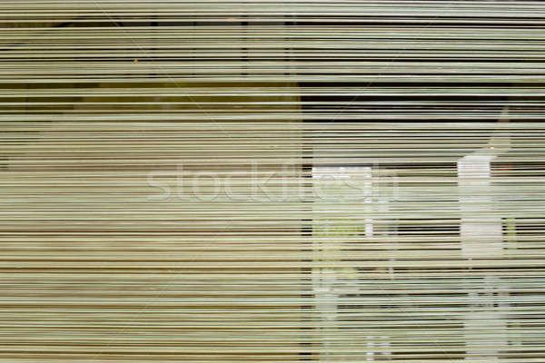 Színes csíkok konzerv terv zöld szövet Stock fotó © art9858