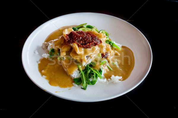 тайский блюдо долго песня свинина Сток-фото © art9858