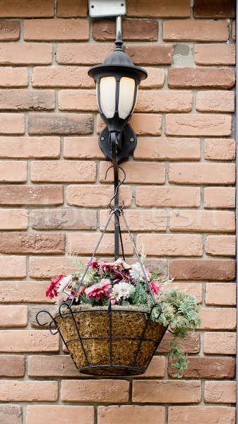 basket of flowers Stock photo © art9858