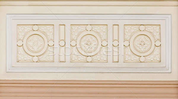 marble decorated background tiles travertine, mosaic Stock photo © art9858