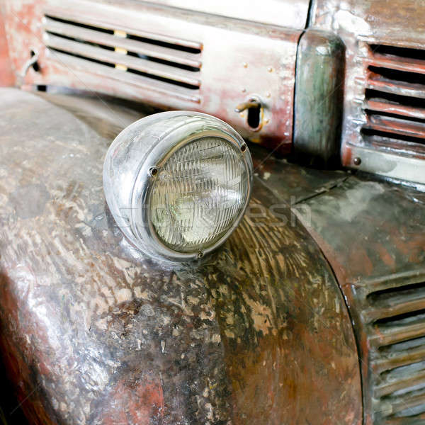 rusting car headlight Stock photo © art9858