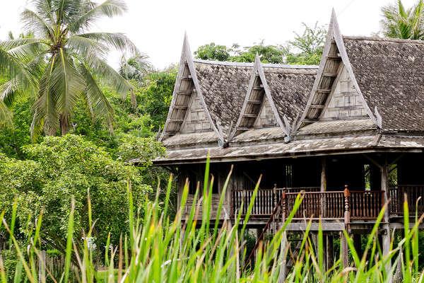 Thai house style Stock photo © art9858