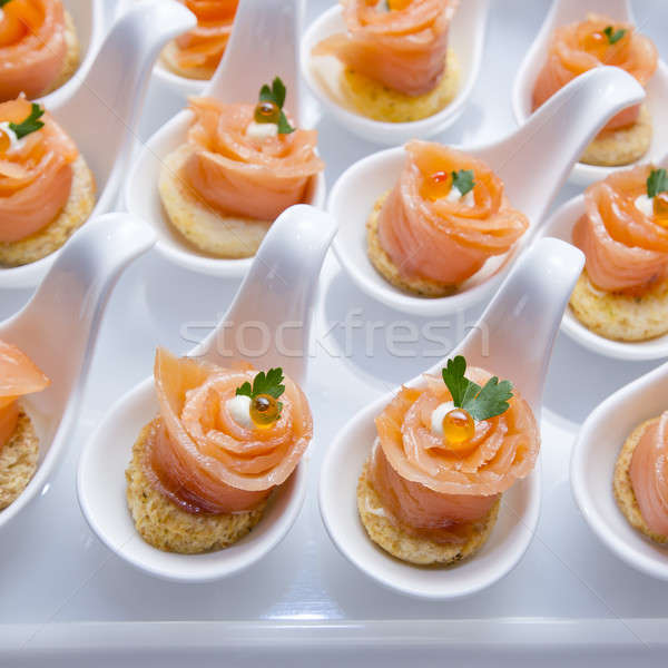 Stock photo: Finger Food in Cocktail Party
