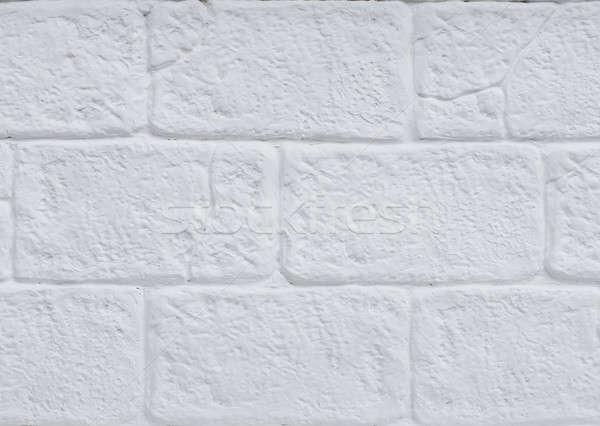 Blanche stuc mur construction pierre intérieur Photo stock © art9858