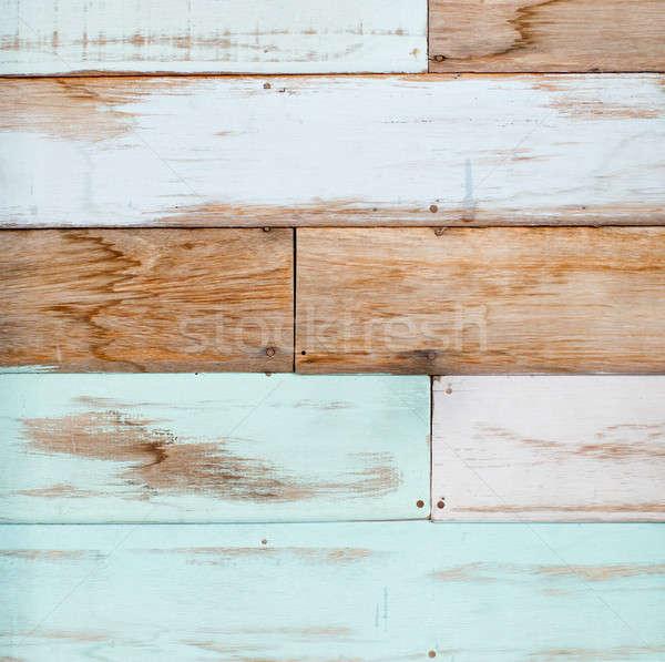 Textura de madeira construção abstrato natureza quadro bar Foto stock © art9858