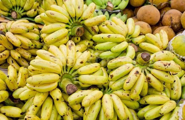 Monte cultivado banana comida natureza fruto Foto stock © art9858