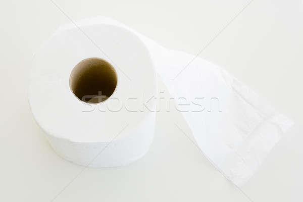Papírzsebkendő fehér háttér tiszta wc út Stock fotó © art9858
