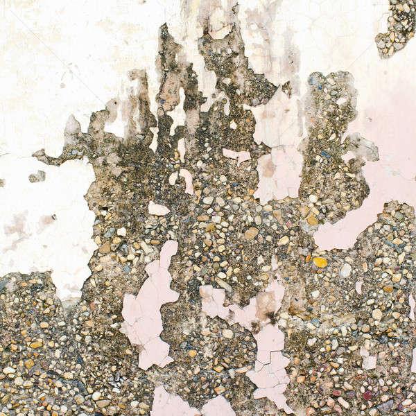 Grunge muur oude huis textuur stedelijke Stockfoto © art9858