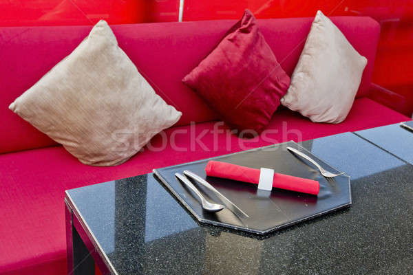 Dine table setting Stock photo © art9858