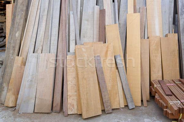 Fa fa építkezés padló építészet fehér Stock fotó © art9858