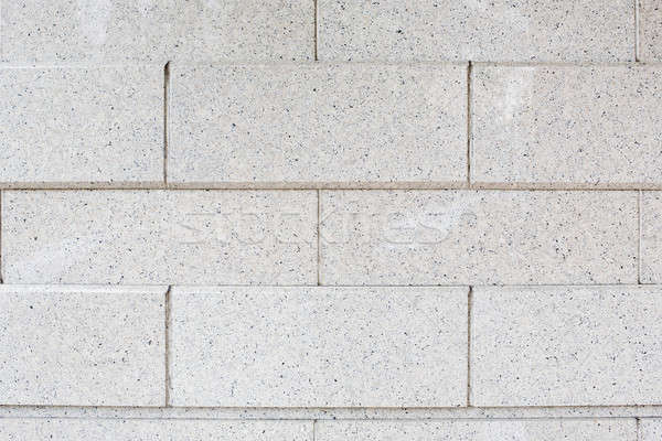 Stock photo: White brick wall. Seamless pattern.