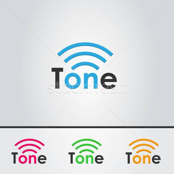 графических музыку звук темы вектора Элементы Сток-фото © artag