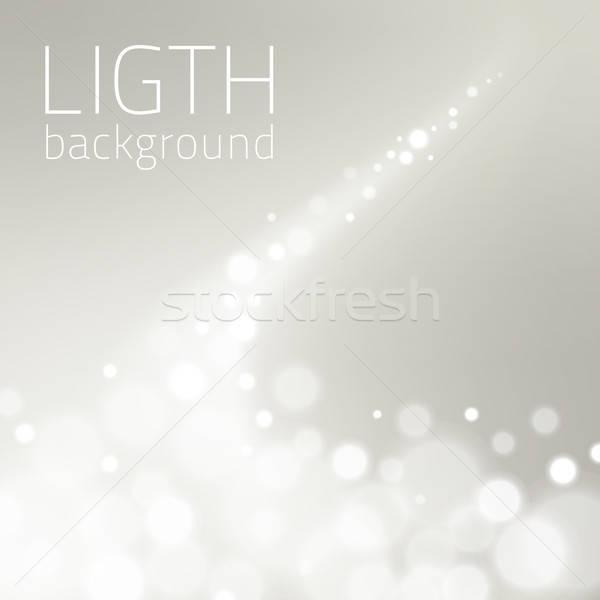 свет магия элемент изолированный декоративный текста Сток-фото © artag