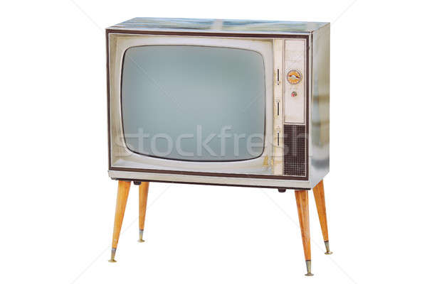 Old vintage tv Stock photo © artfotodima