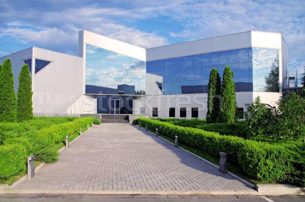 корпоративного здании природы бизнеса Сток-фото © artfotodima