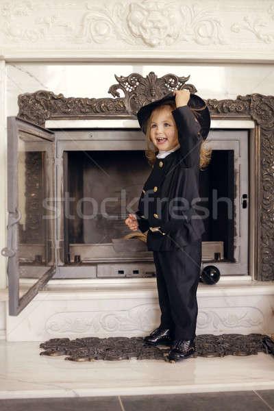 Chimney Sweep Playful Girl  Stock photo © artfotodima