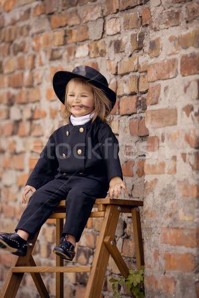 Chimney Sweep Girl Stock photo © artfotodima