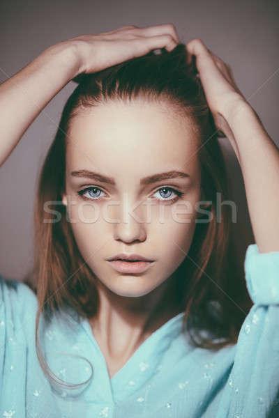 Ritratto giovani tenero sani Foto d'archivio © artfotodima