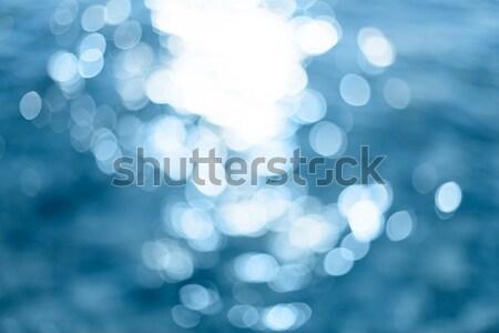 аннотация ярко красочный солнце морем bokeh Сток-фото © artfotodima