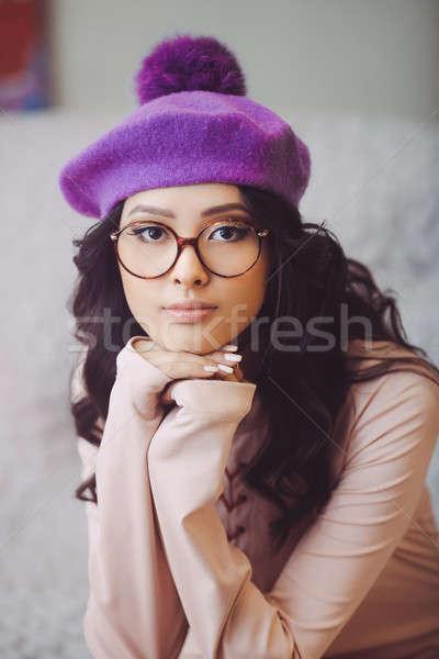 молодые азиатских моде девушки портрет красивой Сток-фото © artfotodima