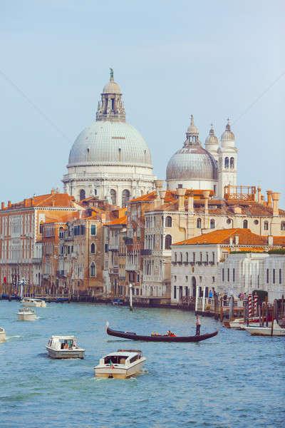 Basilica Santa Maria della Salute, Venice, Italy Stock photo © artfotodima