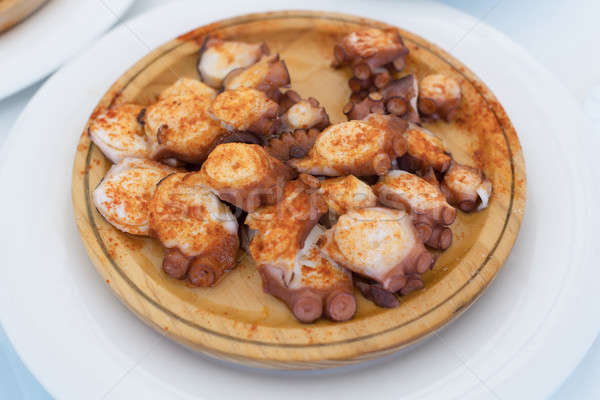 Galician style octopus dish Stock photo © artfotodima