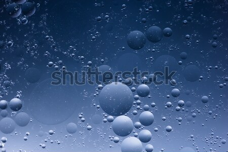 Abstract backgrounds. Oil babbles on water, abstraction . Macro shoot Stock photo © artfotodima