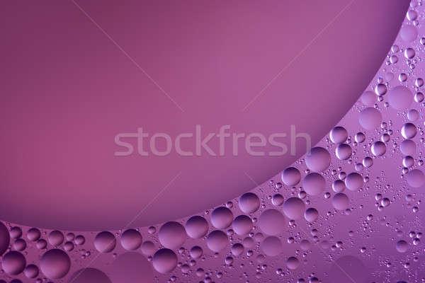 Abstrato fundos Óleo água abstração macro Foto stock © artfotodima