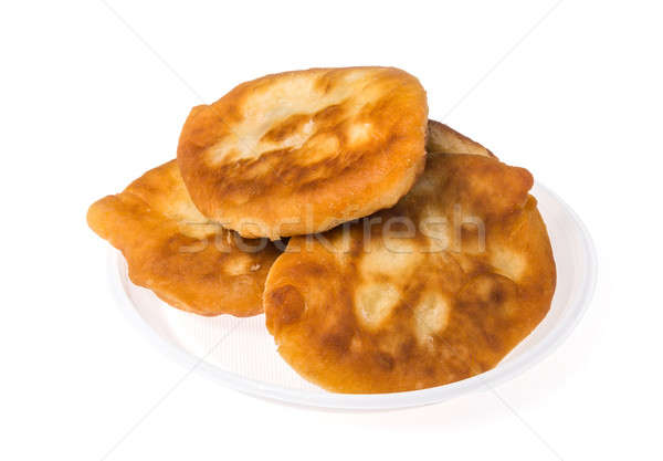 Pirojki. Traditional delicious Russian patty Stock photo © artfotoss