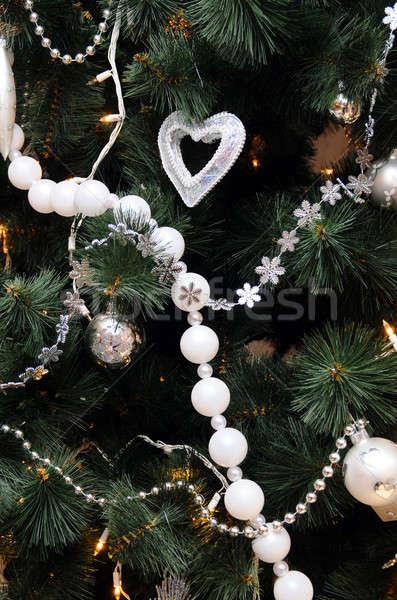 Christmas tree Stock photo © artfotoss