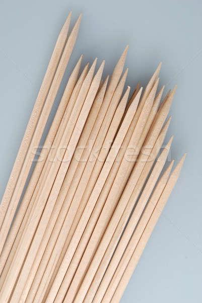 Múltiplo bambu luz comida Foto stock © artfotoss