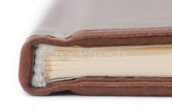 図書 クローズアップ 背骨 図書 光 紙 ストックフォト © artfotoss
