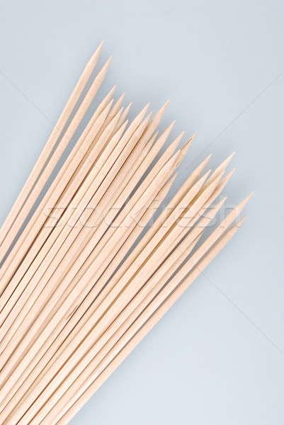 複数 木製 竹 光 背景 ストックフォト © artfotoss