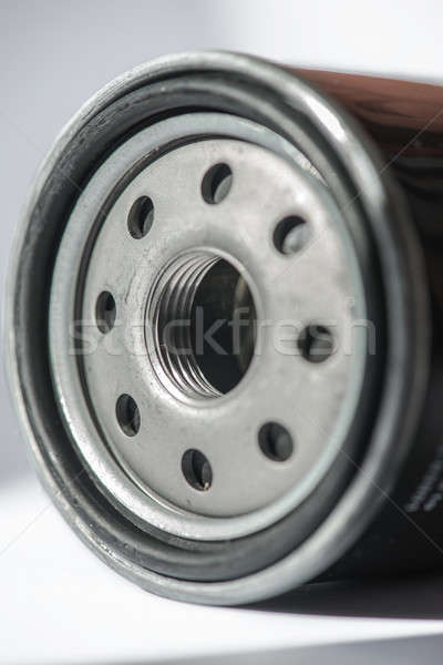 New oil filter car isolated on white background Stock photo © artfotoss