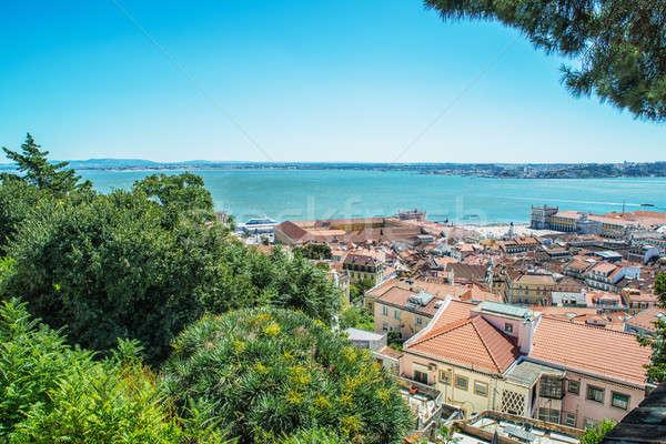 Cityscape in Lisbon, Portugal Stock photo © artfotoss