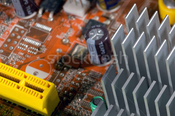 electrical circuit Stock photo © artfotoss