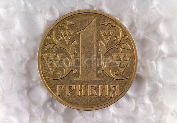 Aço moeda negócio branco tesouro número Foto stock © artfotoss