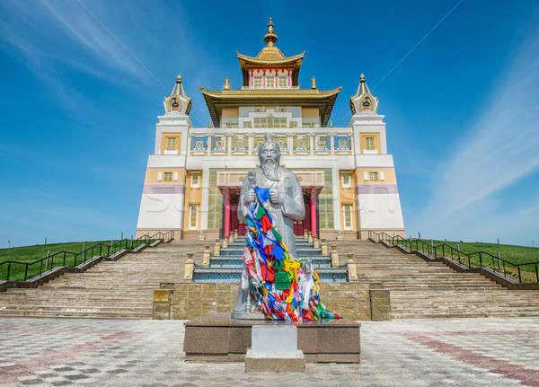 Complejo dorado Buda Rusia Foto stock © artfotoss