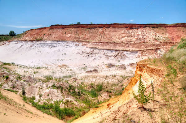 Sand quarry  Stock photo © artfotoss