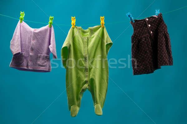Stock photo: children's wear