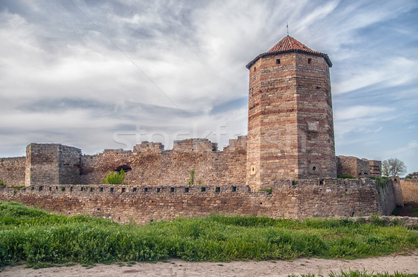 Medieval Akkerman fortress near Odessa in Ukraine Stock photo © artfotoss
