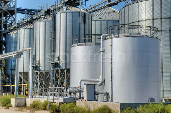 Grain Elevators Stock photo © artfotoss