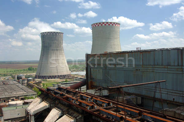 energy producing station Stock photo © artfotoss