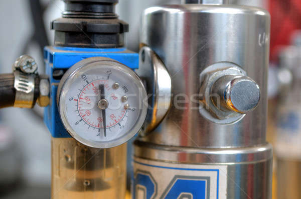 Manometer close up Stock photo © artfotoss