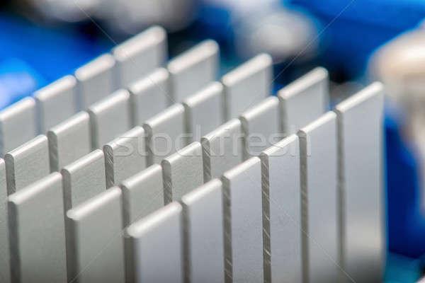 Számítógépek részlet közelkép absztrakt szív technológia Stock fotó © artfotoss