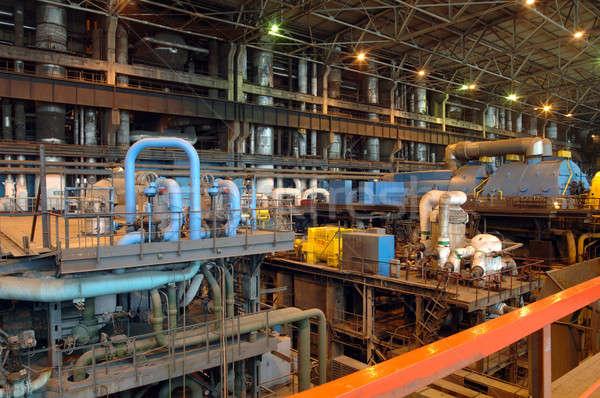 industrial workshop Stock photo © artfotoss