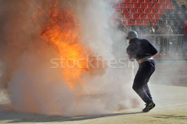 消防 火災 スポーツ ウィンドウ ヘルプ エネルギー ストックフォト © artfotoss