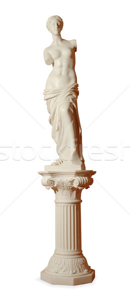 gypsum statue of a woman Stock photo © artfotoss