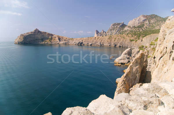 bay and mountains Stock photo © artfotoss